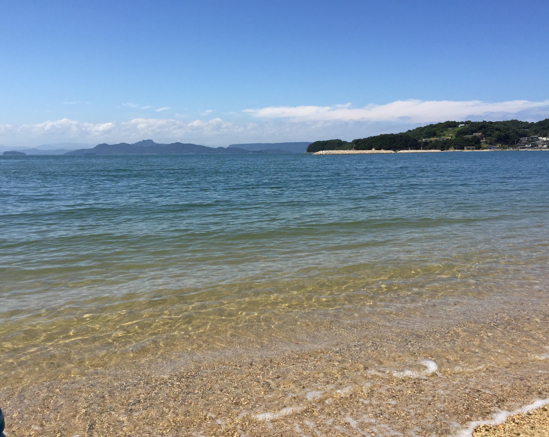小豆島の海(鹿島)