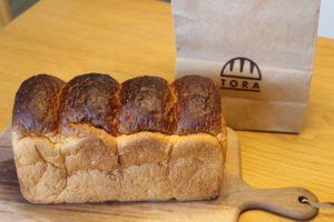 「パンのトラ」NEOPASA岡崎店限定【三州三河みりん食パン】はどんな味?(愛知県/岡崎市)